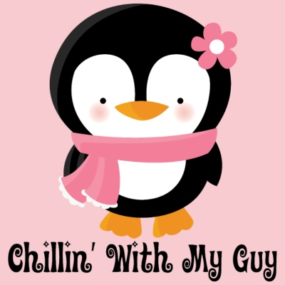Couples Penguin Girl (Chillin With My Guy)
