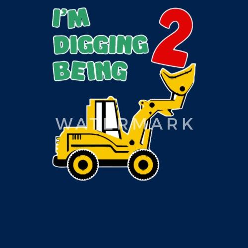 2nd Birthday Bulldozer Construction