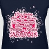 Grandma - Kiss Giving Grandma - Women's T-Shirt