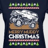 Mud Truck Ugly Christmas - Women's T-Shirt
