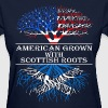 American Grown With Scottish Roots - Women's T-Shirt