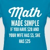 math-made-simple-t-shirt--png.png - Women's T-Shirt