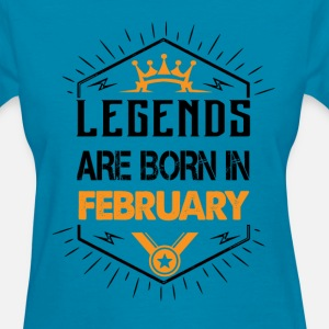 Legends are born in February