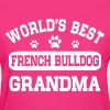 French Bulldog Grandma - Women's T-Shirt