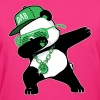 Dabbing Panda Bear - Women's T-Shirt