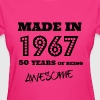 Made in 1967 - 50th bday - Women's T-Shirt