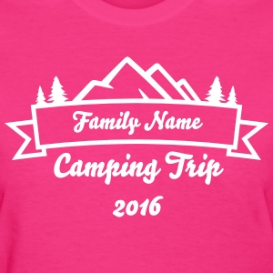 Family Camping Trip Banner