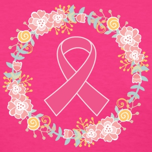 Breast Cancer Awareness Pink Ribbon Wreath