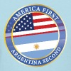 AMERICA FIRST ARGENTINA SECOND - Women's T-Shirt