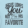 Jesus loves you, but I'm - Women's T-Shirt