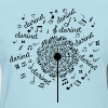 Clarinet Music Notes Band - Women's T-Shirt