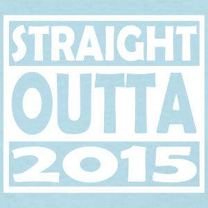 2nd Birthday T Shirt Straight Outta 2015 - Women's T-Shirt