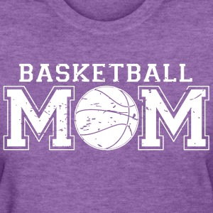 Basketball Mom distressed