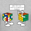 Rubik's Cube Complicate Things - Women's V-Neck T-Shirt