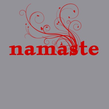 namaste - I honor the Spirit in you which is also in me - Women's V-Neck T-Shirt