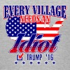 Trump Village Idiot 2016 - Women's V-Neck T-Shirt