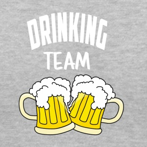 Drinking Team - Women's V-Neck T-Shirt
