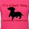 dach thing.PNG - Women's V-Neck T-Shirt