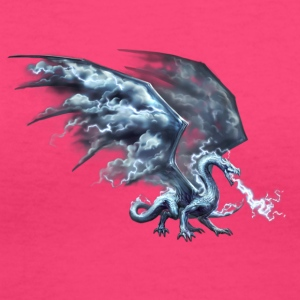 Dragon God - Women's V-Neck T-Shirt