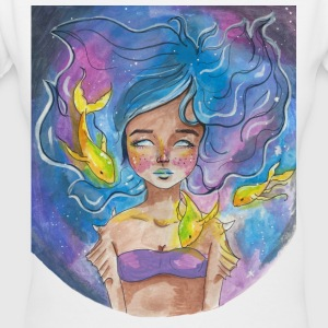 Pisces in the Stars - Women's V-Neck T-Shirt