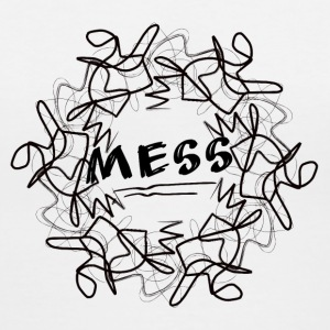 mess - Women's V-Neck T-Shirt