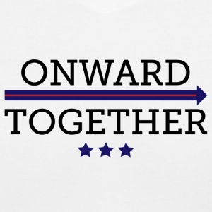 Onward Together - Women's V-Neck T-Shirt