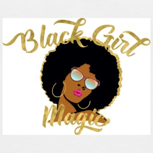 Black Girl Magic - Women's V-Neck T-Shirt