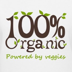 100% Organic Powered By Veggies