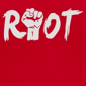 Riot - Women's V-Neck T-Shirt