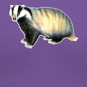 Badger Tee Shirt - Women's V-Neck T-Shirt