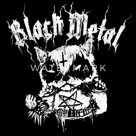 Evil Corpse Paint Black Metal Panda Women S V Neck T Shirt Black