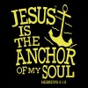JESUS IS THE ANCHOR OF MY SOUL - Women's V-Neck T-Shirt