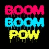 Boom Boom Pow Women's V-Neck T-Shirt - Women's V-Neck T-Shirt