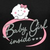 baby girl inside - Women's V-Neck T-Shirt