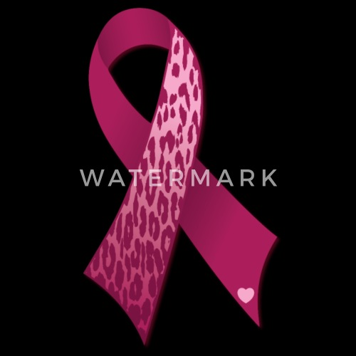 Breast Cancer Ribbon Leopard Print Women S V Neck T Shirt Spreadshirt