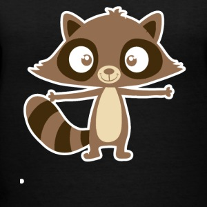 Raccoon Shirt - Women's V-Neck T-Shirt