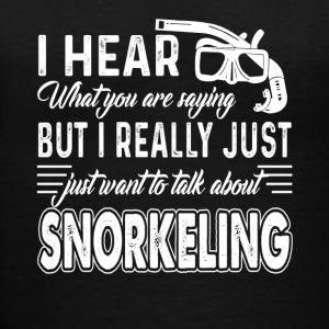 Snorkeling Tee Shirt - Women's V-Neck T-Shirt