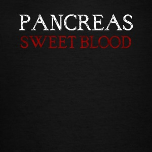 pancreas sweet blood - Women's V-Neck T-Shirt