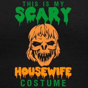 Halloween This My Scary Housewife Costume - Women's V-Neck T-Shirt