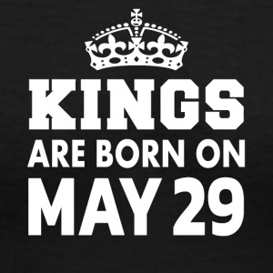 Kings are born on May 29 - Women's V-Neck T-Shirt