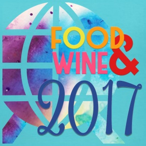 Epcot International Food and Wine Festival 2017 - Women's V-Neck T-Shirt