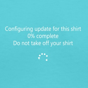 Windows 10 Updates Shirt - Women's V-Neck T-Shirt