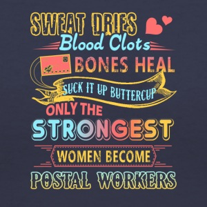Postal Worker Tee & Hoodie - Women's V-Neck T-Shirt