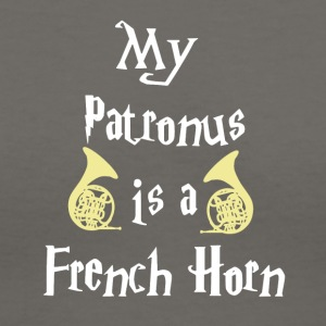 My Patronus is a French Horn Tshirt - Women's V-Neck T-Shirt