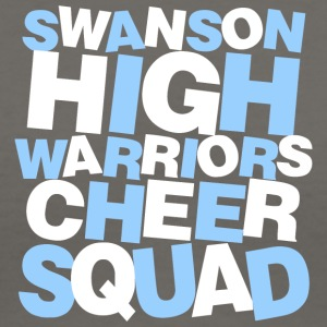 SWANSON HIGH WARRIORS CHEER SQUAD - Women's V-Neck T-Shirt