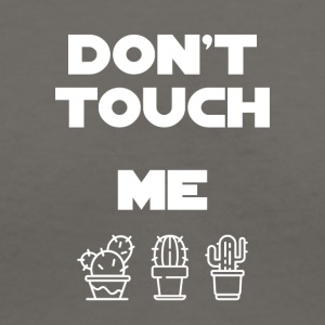 Don't touch me - Women's V-Neck T-Shirt