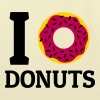 I love donuts - Eco-Friendly Cotton Tote