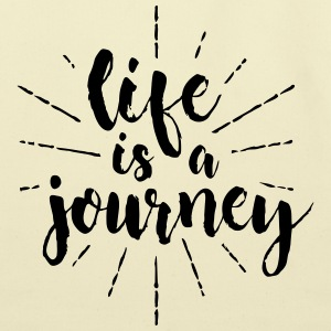 life is a journey - Eco-Friendly Cotton Tote