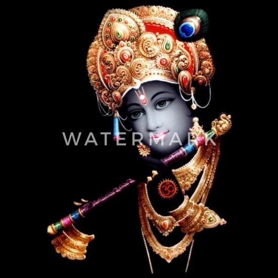 lord krishna wallpaper 1 eco friendly tote bag