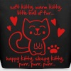 soft kitty, warm kitty, little ball of fur... - Eco-Friendly Cotton Tote